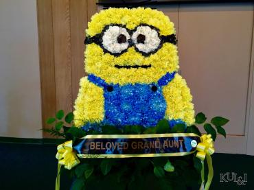 Minion Sympathy Wreath