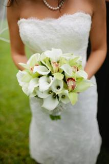 Orchid and Calla Lily Bouquet