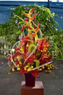 Tall Tropical Arrangement (2)