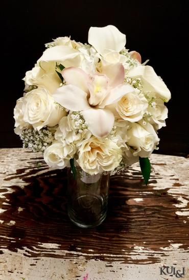 Compact White Bouquet