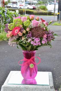 Colorful Vase Arrangement