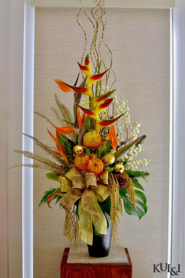 Christmas High-Style Tropical Arrangement