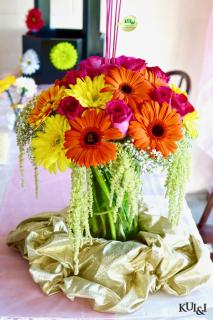 Gerbera Vase Arrangement