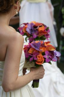 Colorful Clutch Bouquet