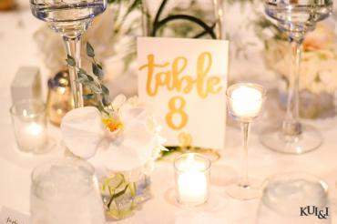 Wedding Glassware Decorations