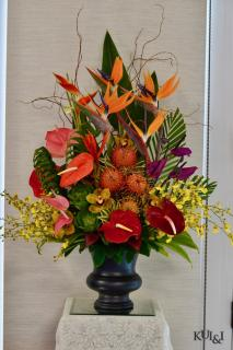 Tropical High-Style Arrangement