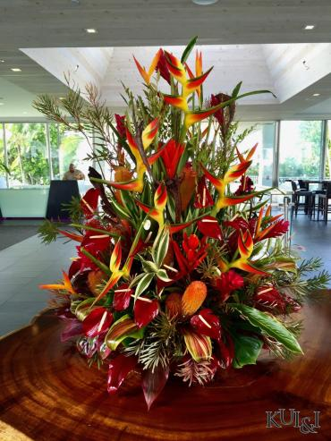 Large Walk-around Tropical Arrangement