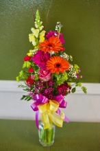Colorful Spring Budvase